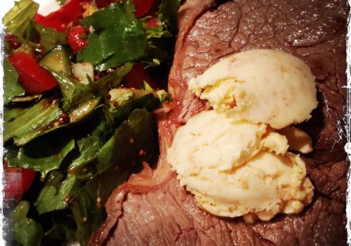 Rumpsteak mit Chilibutter