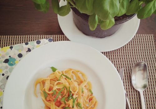 Thunfisch Pasta -One Pot Pasta-