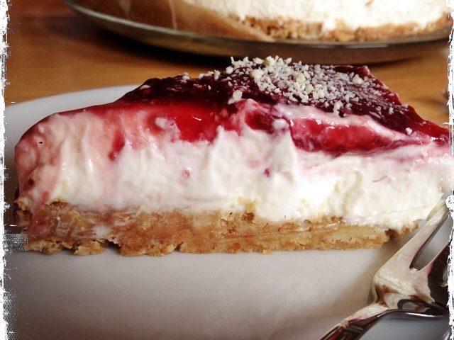 Kuchen Ohne Backen Himbeer Frischkase Kuchen Muddis Kochen
