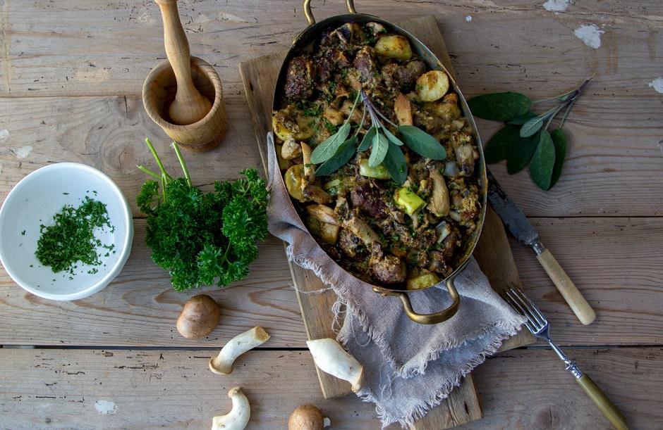 Kartoffel Pilz Auflauf Muddis Kochen