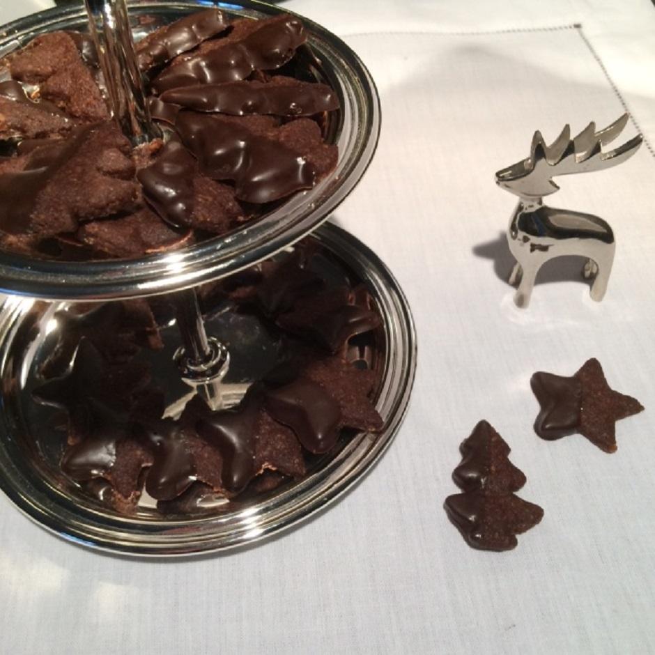 Schokoplätzchen Zu Weihachten Muddis Kochen