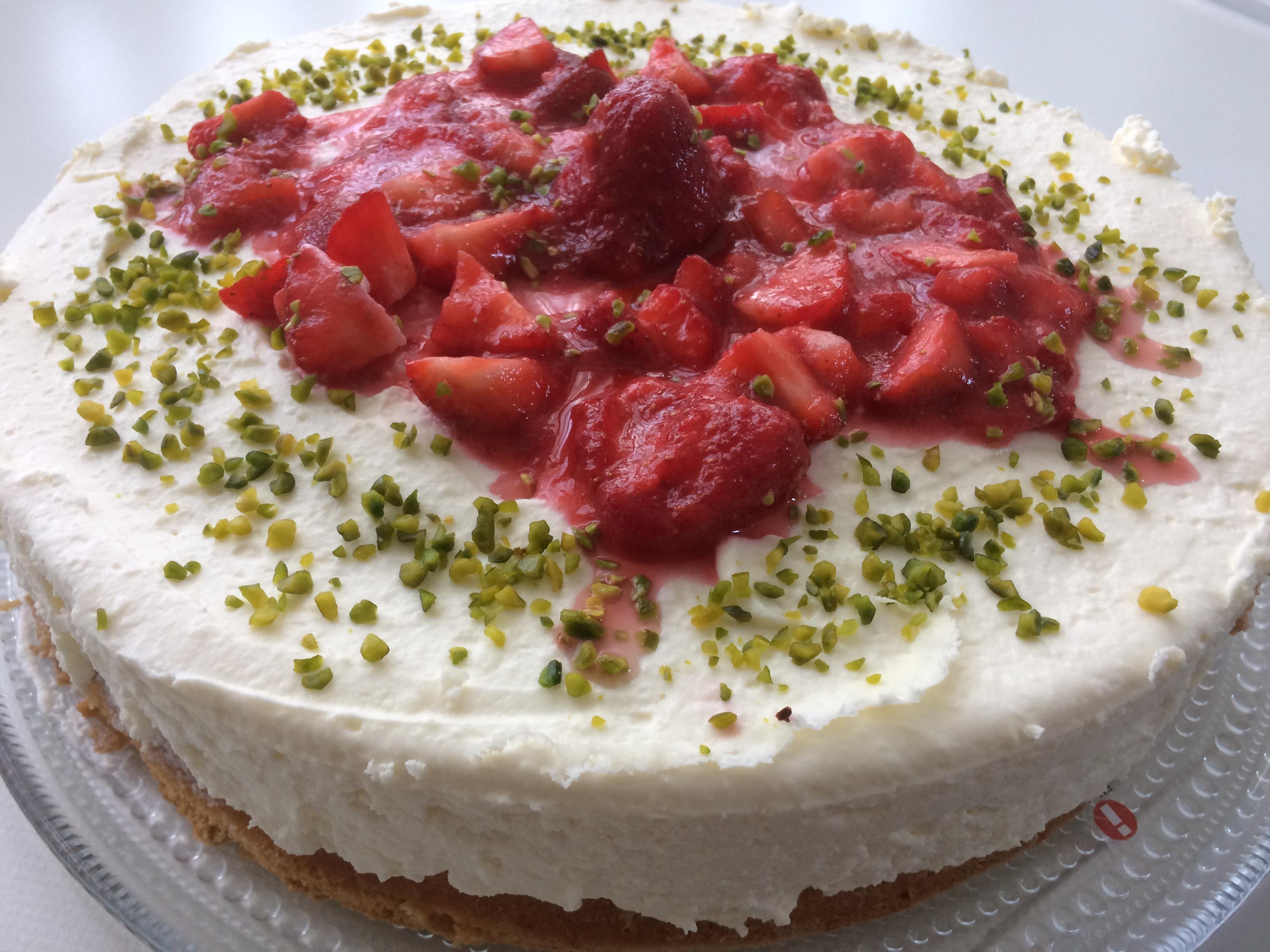 Erdbeer Mascarpone Torte Muddis Kochen