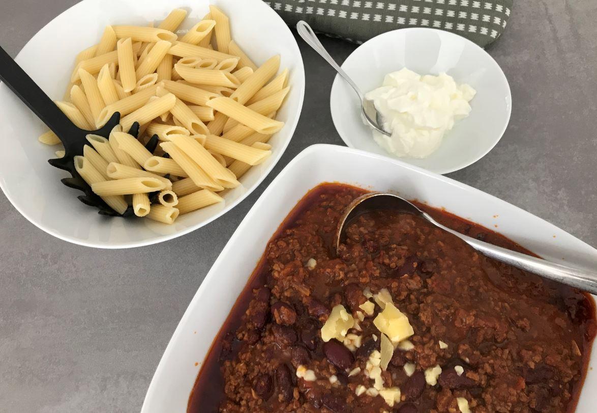 Chili Con Carne Mit Schokolade Muddis Kochen