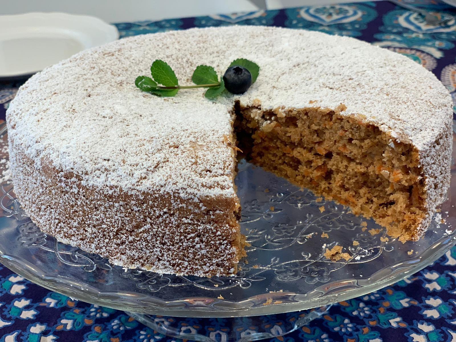 Karotten-Walnuss Kuchen